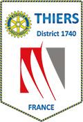 Blason Rotary Club de Thiers